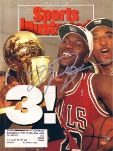 Michael Jordan autographed 1993 Sports Illustrated