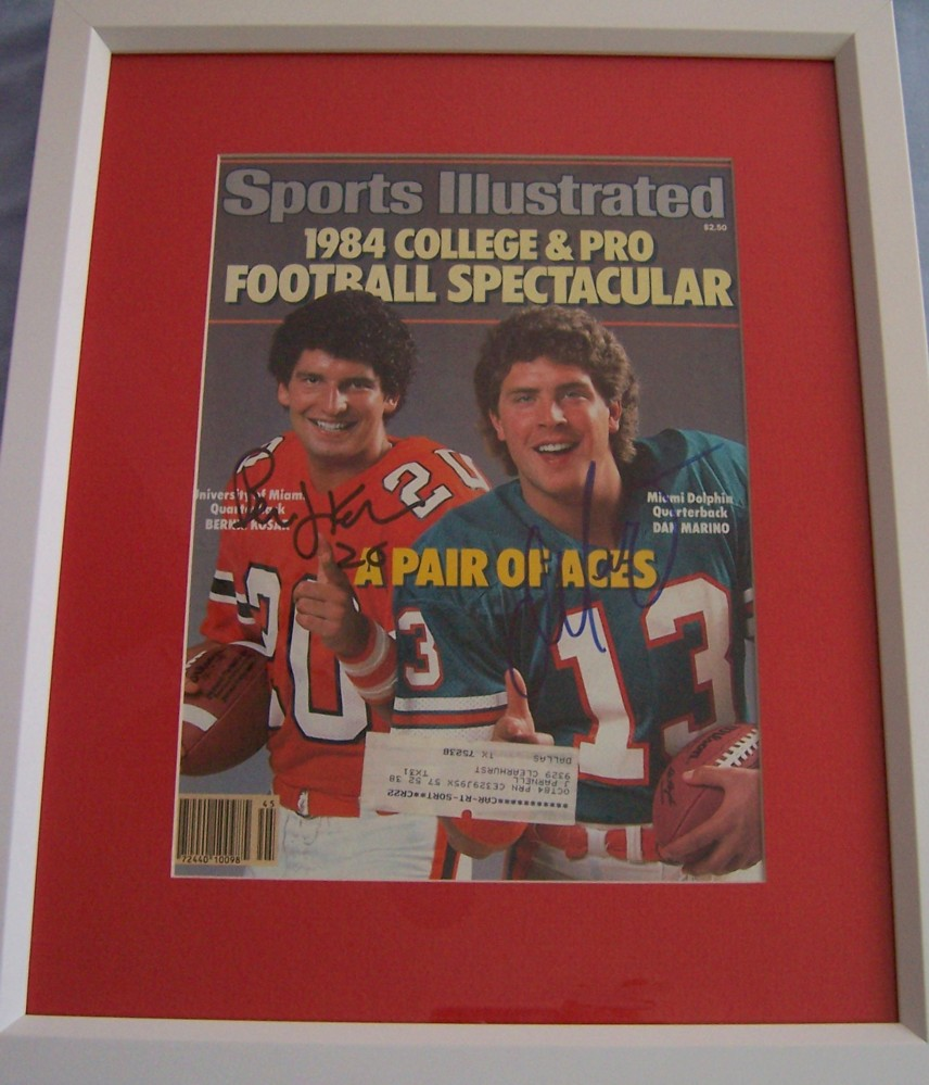 Dan Marino The Autograph That Can T Be Authenticated